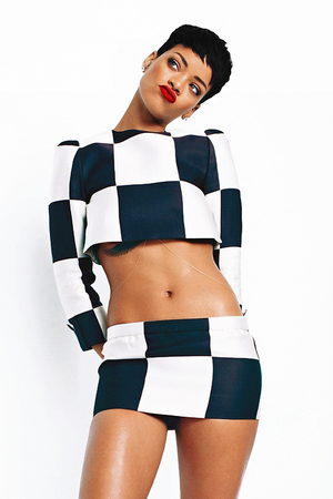 RIHANNA ELLE COVER SHOOT