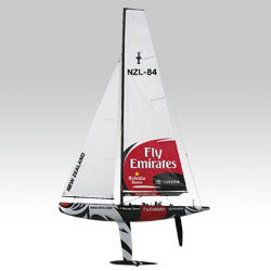 1/25 ETNZ 1M America's Cup Racing Yacht KIT 5555