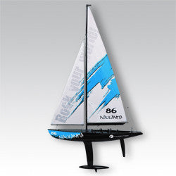 Free shipping_Naulantia 1M Racing Yacht Red 5549