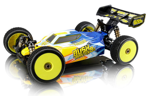 Thunder Tiger RC Car 6412-F131 BUSH MASTER 8E 1/8 RTR (4S Vision)