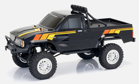 TOYOTA HILUX 1/12 PICK-UP TRUCK RTR (Blue/Red/Black)