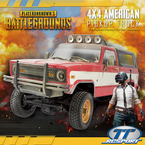 PUBG 4x4 AMERICAN PICKUP TRUCK 1/12 Electric RTR