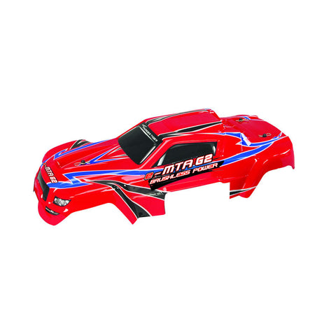 e-MTA G2 Monster Truck Parts Body Set (Red) PD09-0115