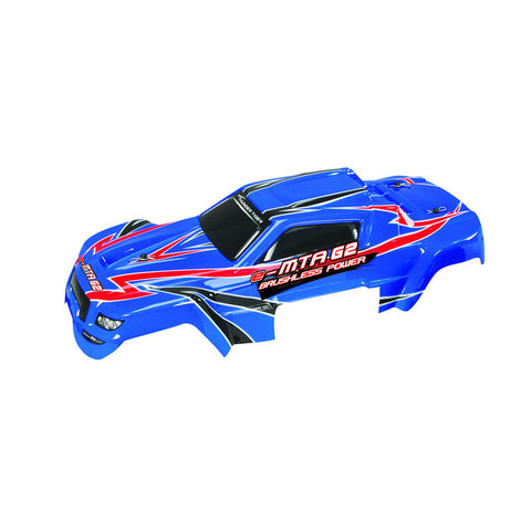 e-MTA G2 Monster Truck Parts Body Set (Blue) PD09-0116