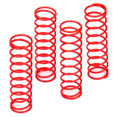 e-MTA G2 Truck Parts Shock Spring (4) Firm Red PD1475