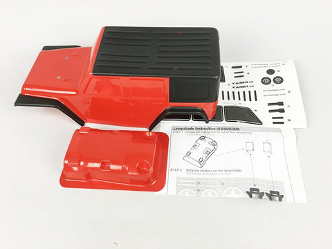 KAISER XS Parts Pre-Painted Body Red PD90413S1