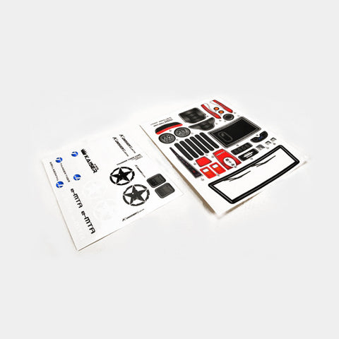 KAISER Parts BODY DECAL  PD9520