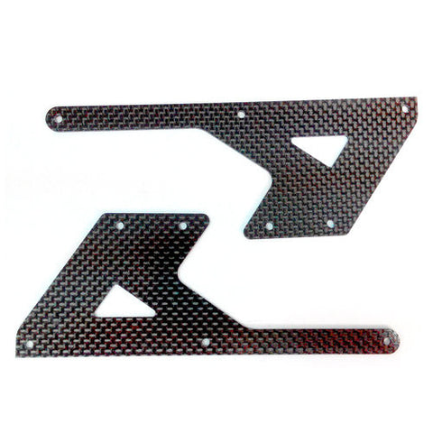 E550 Parts Carbon Lower Frame (2) Rear PV0071