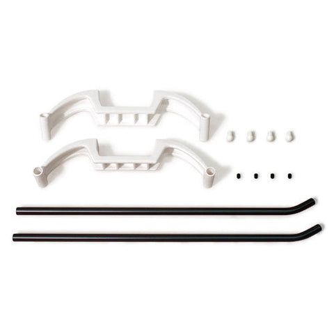 Thunder Tiger RC Helicopter Raptor E700 Parts LANDING SKID SET PV1672NIB