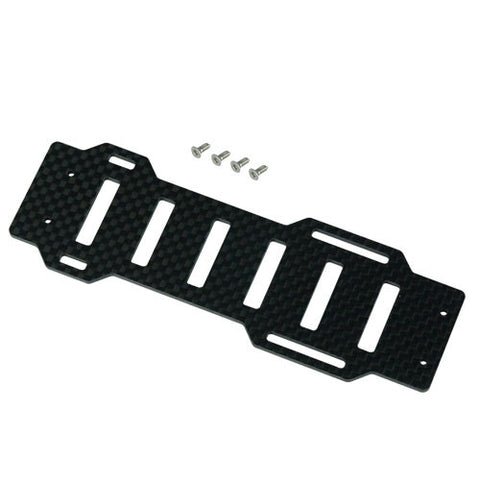 Thunder Tiger RC Heli Raptor E300MD Innovator Parts Carbon Base Plate PV6155
