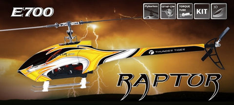 Raptor E700 V2 Flybarless Elektro Kit 4761-K30