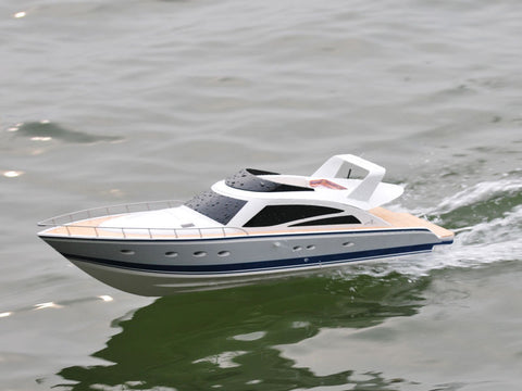 Thunder Tiger RC Boat ATLANTIC Motoryacht OBL Brushless 2.4GHz 5128-F13 NIB (Free Shipping)