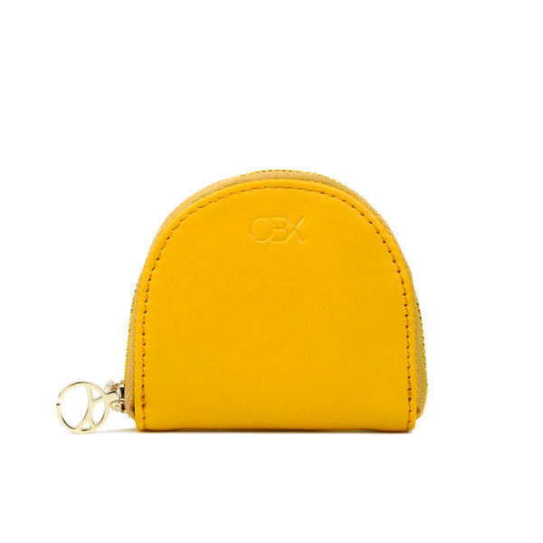 Half-moon Coin Purse, Yellow