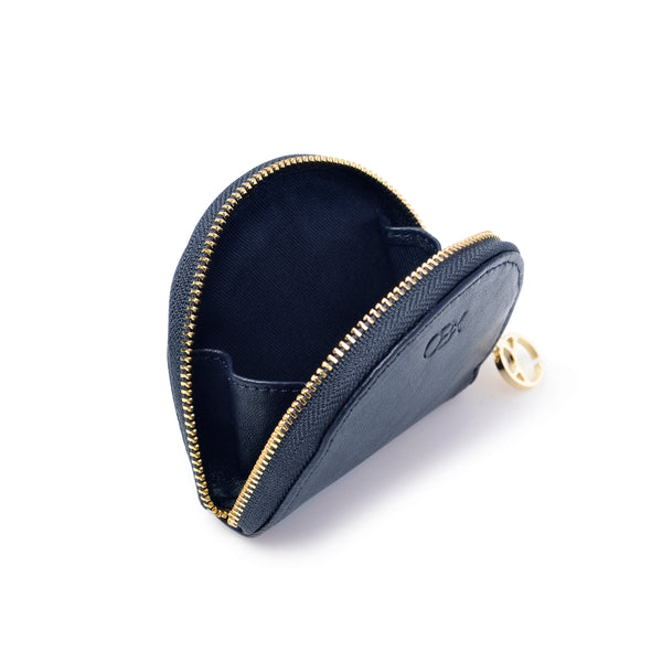 Half-moon Coin Purse, Navy