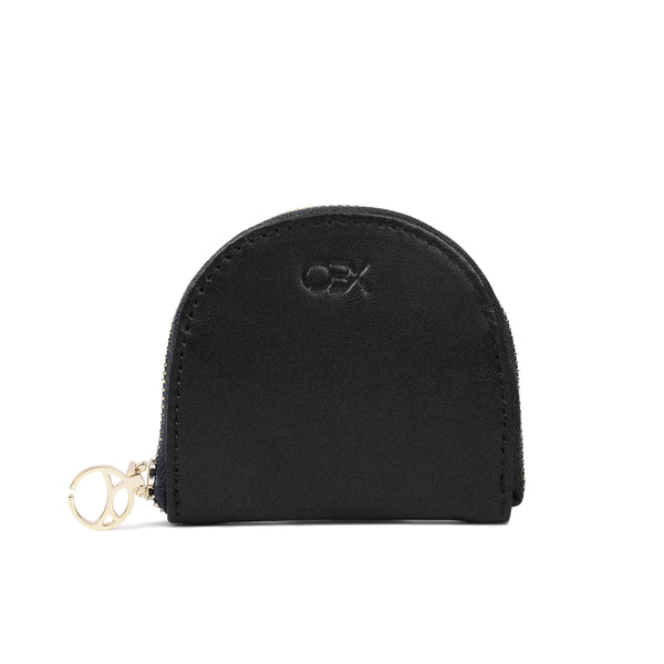 Half-moon Coin Purse, Black