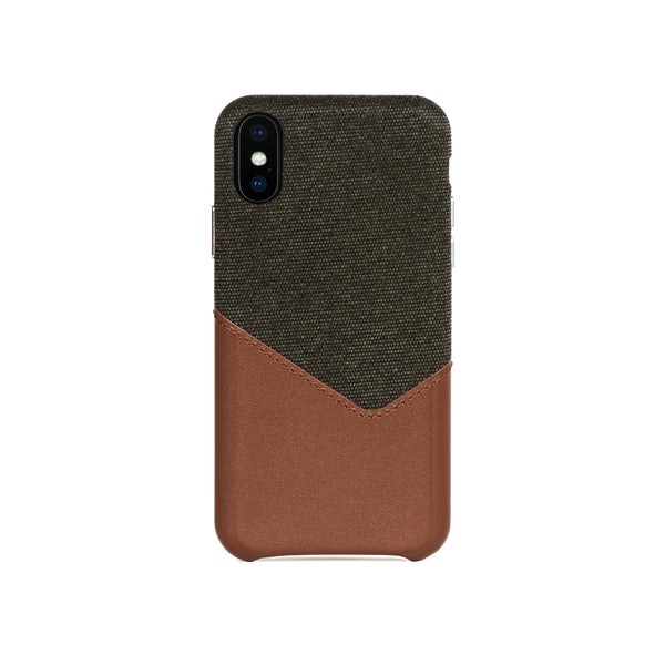 Valley Card Slot Case for iPhone X / iPhone Xs, Irish Layered