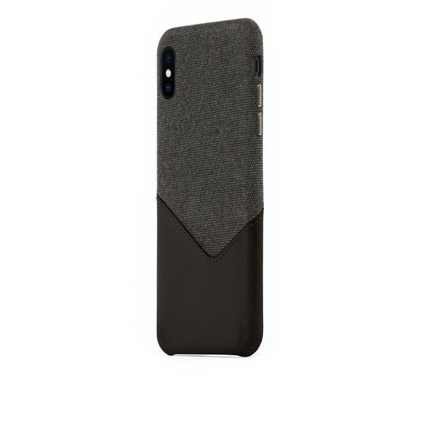 Valley Card Slot Case for iPhone Xs Max, Black
