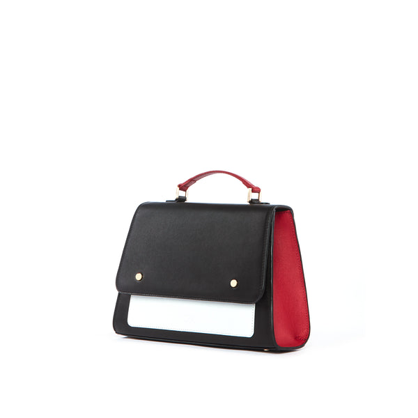 Satchel Bag, Black