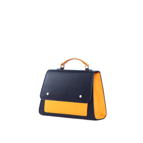 Satchel Bag, Navy