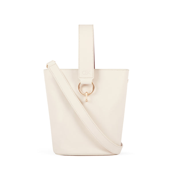 New Bucket Bag, Beige