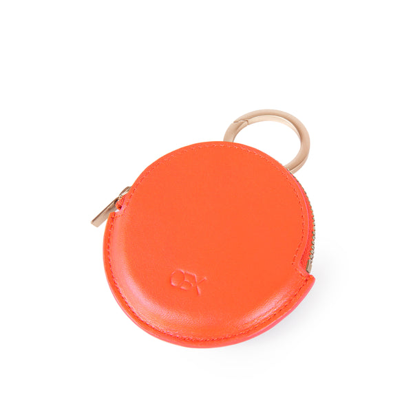 Round Coin Purse, Orange