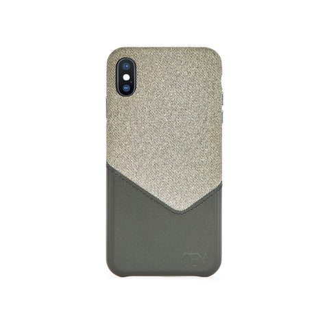 Valley Card Slot Case for iPhone X / iPhone Xs, Aloe Vera