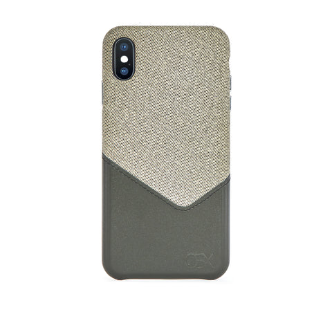 Valley Card Slot Case for iPhone Xs Max, Aloe Vera