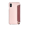 Leather Folio Case for iPhone Xs Max, Bordeaux