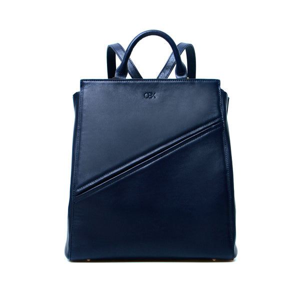 Structured Backpack, Blue Night