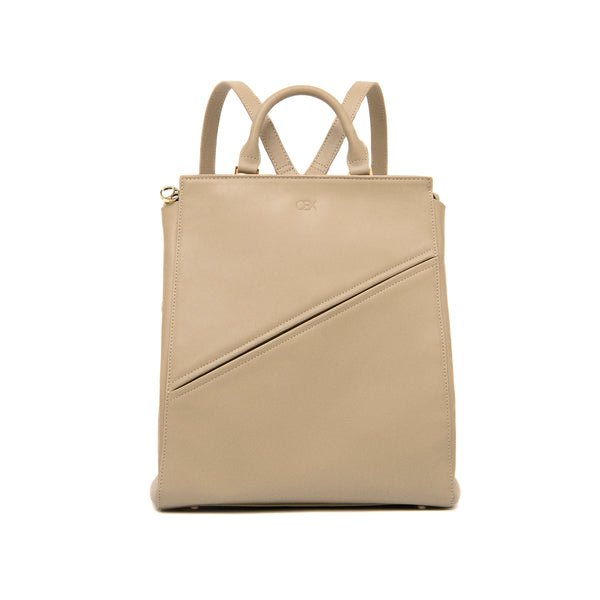 Structured Backpack, Simple Taupe