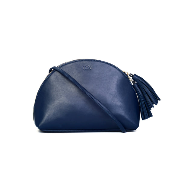 Plump Shoulder Bag, Navy