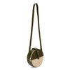 Circle Shoulder Bag, Olive Night