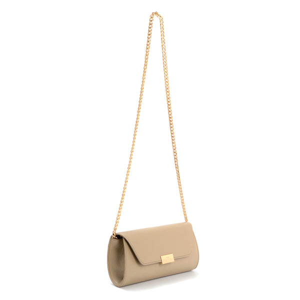 Envelope Clutch Bag, Simply Taupe