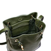 Belt Bucket Bag, Olive Night