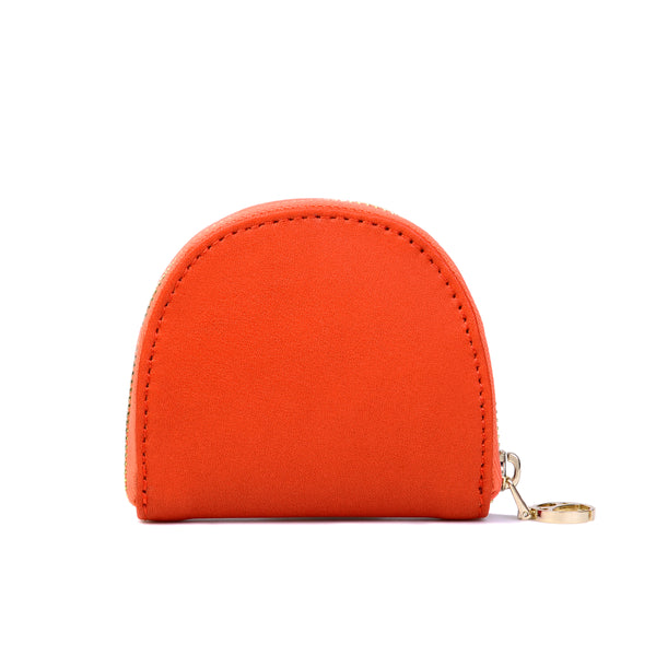 Half-moon Coin Purse, Orange