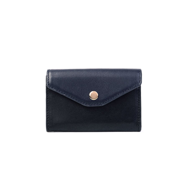 2 Tone Cardholder, Black/Blue Night