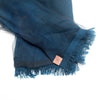 Sheer Veil Silk-blend Scarf, Royal Blue