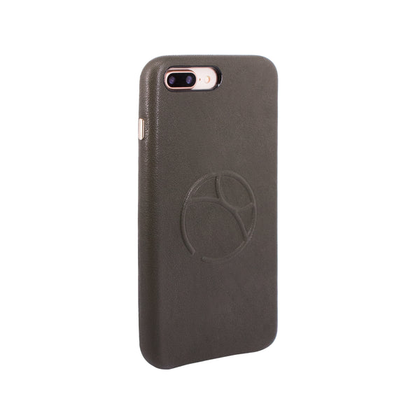 Embossed logo snap on case for iPhone 7 Plus / iPhone 8 Plus, Dark Green