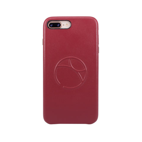 Embossed logo snap on case for iPhone 7 Plus / iPhone 8 Plus, Raisin