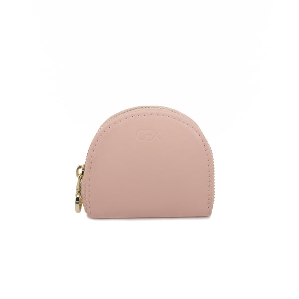 Half Moon Coin Pouch, Blush