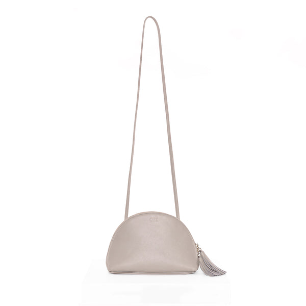 Plump Shoulder Bag II, Light Grey