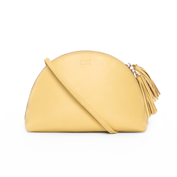 Plump Shoulder Bag II, Light Yellow