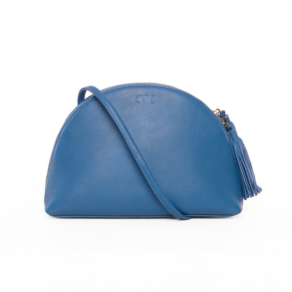 Plump Shoulder Bag II, Jeans Blue