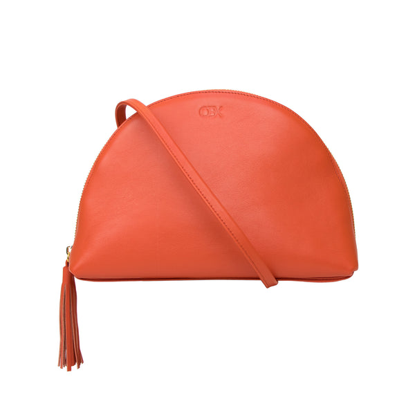 2-way Plump Bag, Burnt Orange