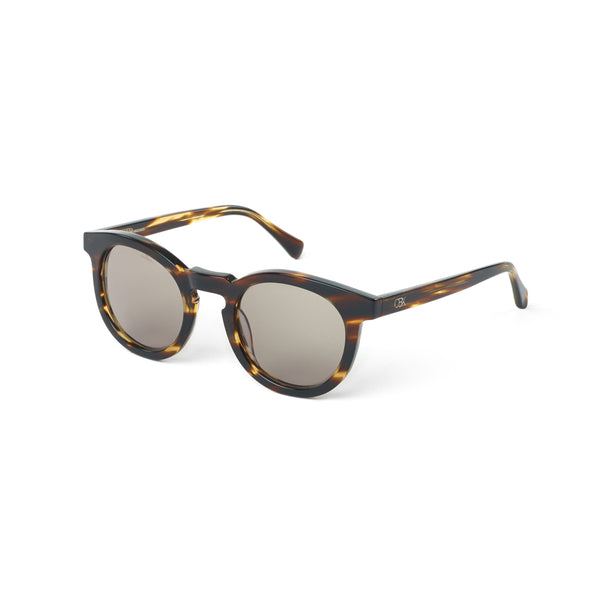 Tortoiseshell Acetate Sunglasses, Brown Olive