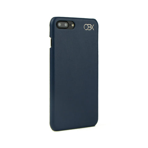 Italian Leather Case for iPhone 7 Plus, Navy