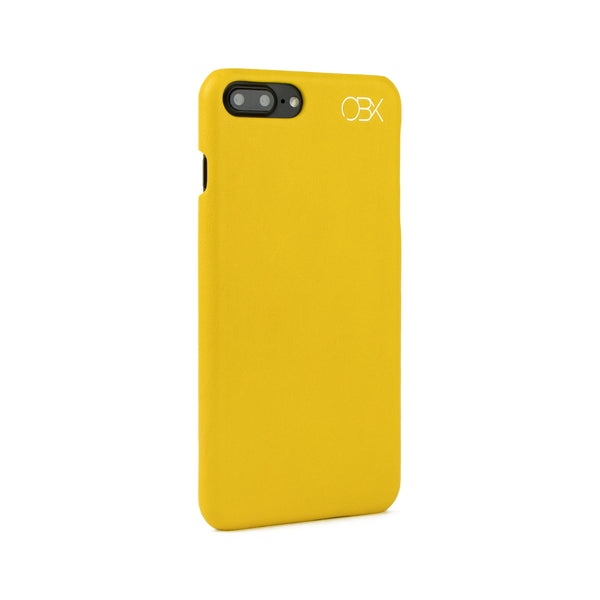 Italian Leather Case for iPhone 7 Plus, Mustard