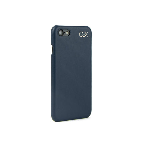 Italian Leather Case for iPhone 7, Navy