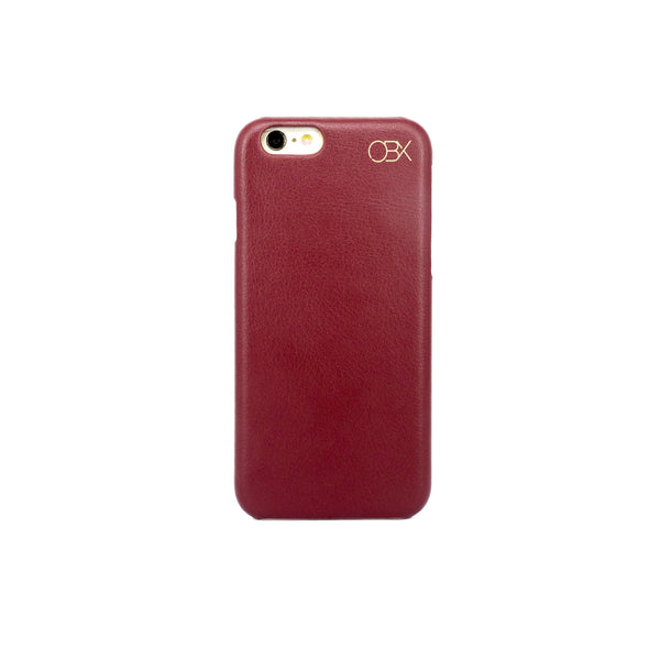 Faux Leather Case for iPhone 6/6s, Red
