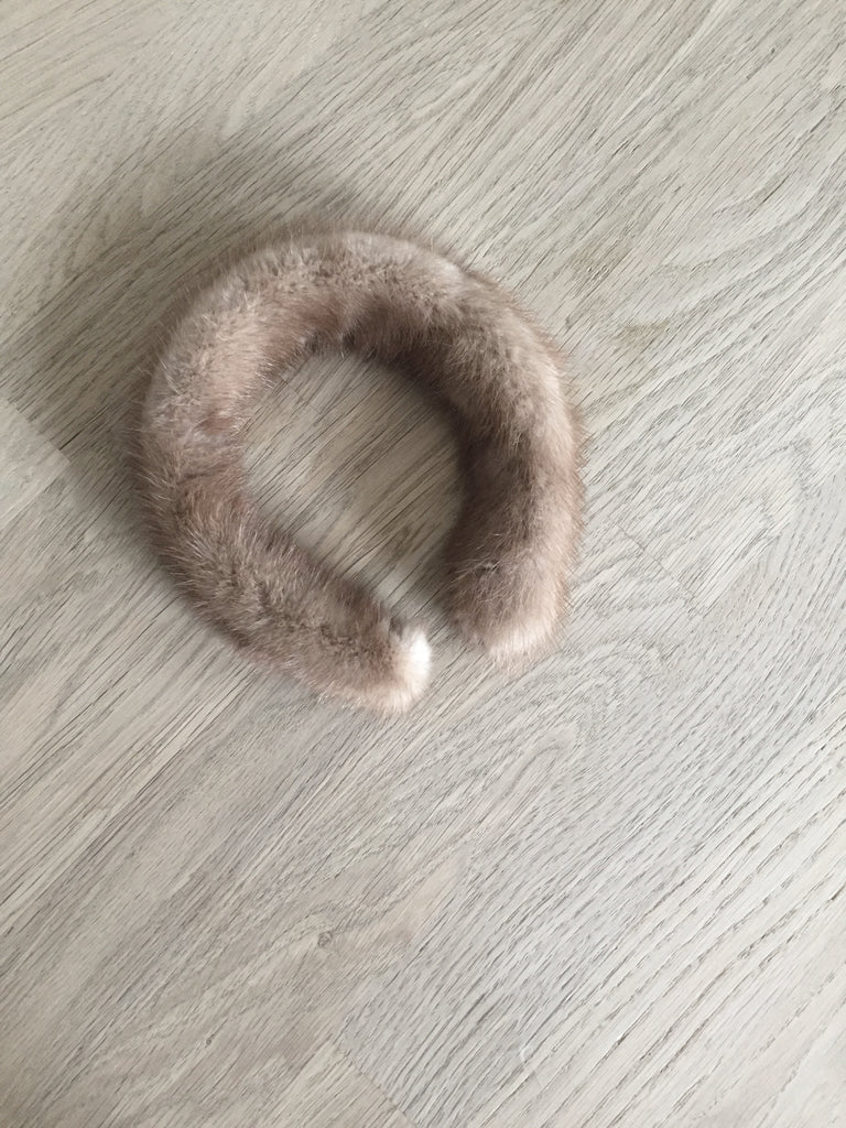 MINK FUR HEADBAND - CHRISTINA FISCHER
